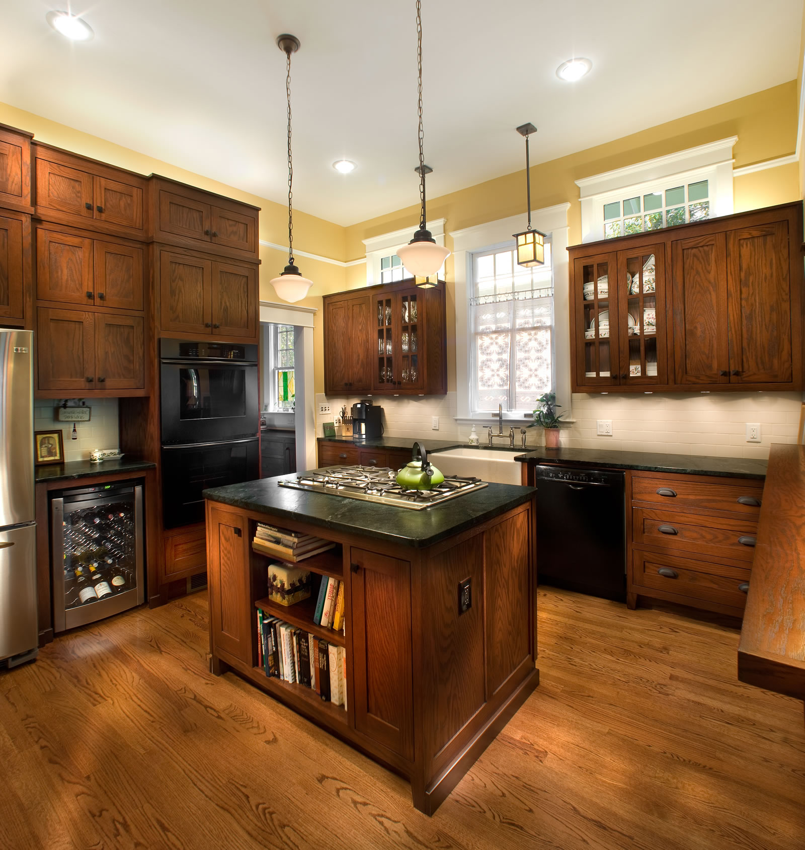 Classic Craftsman Kitchen Home Forge Remodeling